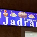 Slastičarnica Jadran - svjetleća reklama - gea-byte.hr